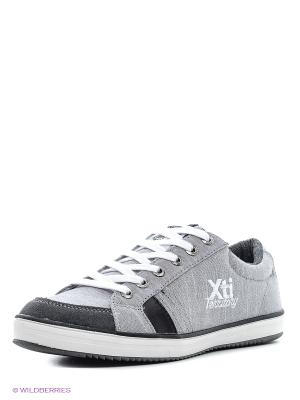 Кеды XTI. Цвет: серый