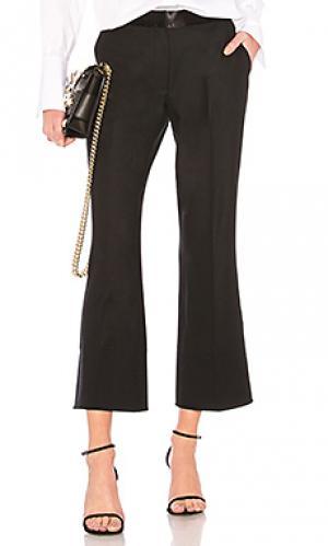 Расклешенные брюки mira Elizabeth and James. Цвет: черный