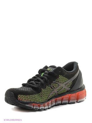 Спортивная обувь GEL-QUANTUM 360 CM ASICS. Цвет: черный, белый, зеленый