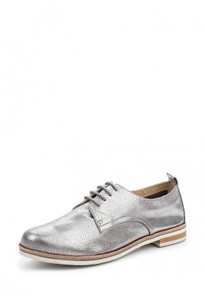 Ботинки Caprice. Цвет: серебряный