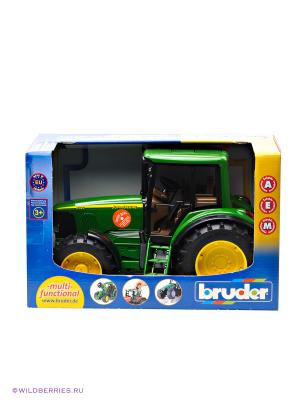 Трактор John Deere 6920 Bruder. Цвет: зеленый, желтый, черный