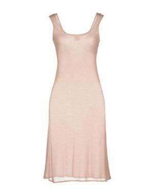 Короткое платье ALISA. Цвет: телесный