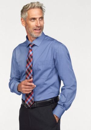 Комплект: рубашка + галстук платок Otto. Цвет: синий