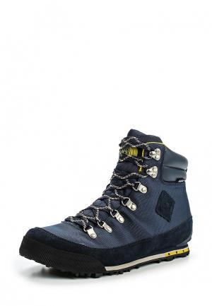 Ботинки трекинговые North Face. Цвет: синий