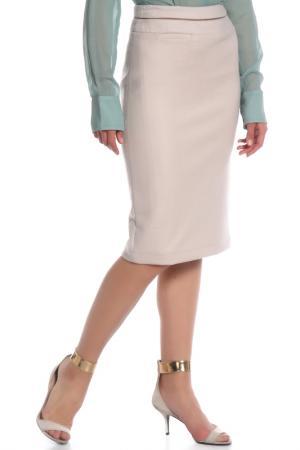 Юбка Costume National. Цвет: 200, бежевый