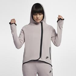 Женский кейп с молнией во всю длину  Sportswear Tech Fleece Nike. Цвет: розовый
