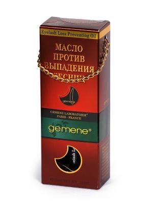 Масло против выпадения ресниц, 10 мл Gemene. Цвет: прозрачный