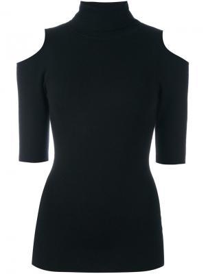 Вязаная блузка Perey Zoe Jordan. Цвет: чёрный