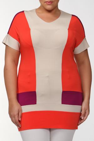 Блуза Marly's. Цвет: бежевый