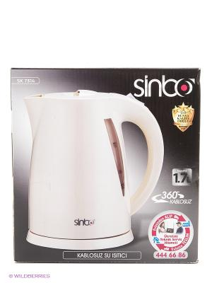 Чайник Sinbo SK 7314 1.7л. 2000Вт. Цвет: белый