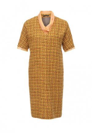 Платье Uona. Цвет: желтый