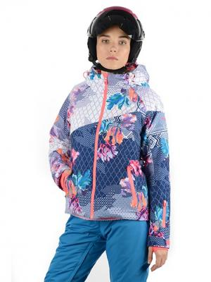 Куртка Stayer. Цвет: темно-синий, голубой, коралловый
