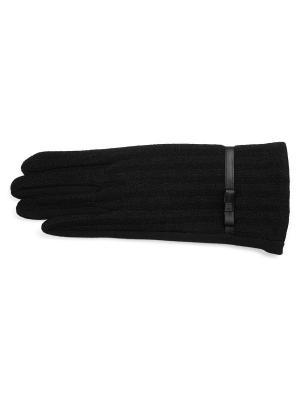 Перчатки J&Elisabeth. Цвет: черный