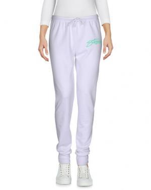 Повседневные брюки STUSSY. Цвет: белый