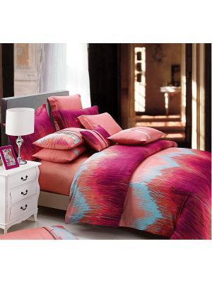 Комплект постельного белья 1.5 сп. Dream time. Цвет: красный