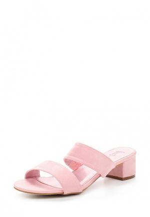 Сабо Vera Blum. Цвет: розовый