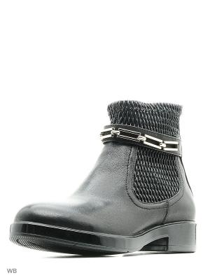 Ботинки MASSIMO SANTINI. Цвет: черный