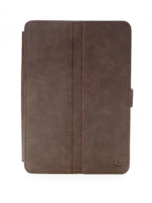 Чехол-книжка Norton универсальный 7,85 (205х140 мм) с уголками, левосторонняя камера (коричневый) Norton.. Цвет: коричневый