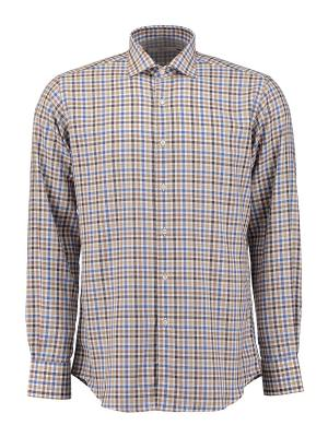 Рубашка Ingram. Цвет: бежевый