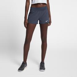 Женские теннисные шорты Court Flex Pure Nike. Цвет: синий