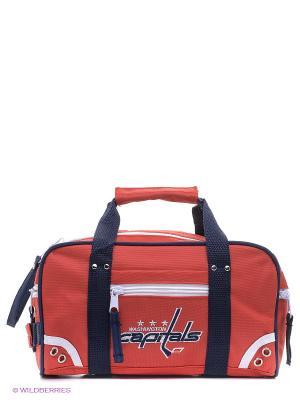 Минибаул NHL Capitals Atributika & Club. Цвет: красный