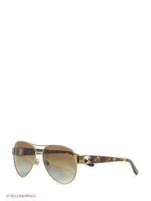 Солнцезащитные очки RALPH LAUREN. Цвет: золотистый
