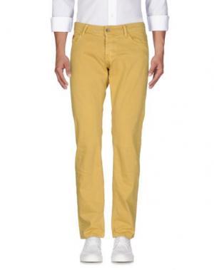 Джинсовые брюки UNLIMITED. Цвет: охра