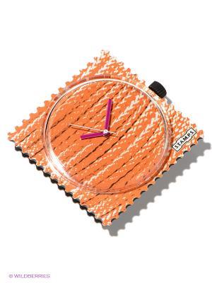 Часы S.T.A.M.P.S.. Цвет: оранжевый, фиолетовый