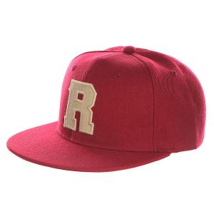 Бейсболка с прямым козырьком Truespin Abc Bordo R. Цвет: бордовый