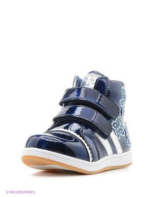 Ботинки Flamingo. Цвет: синий