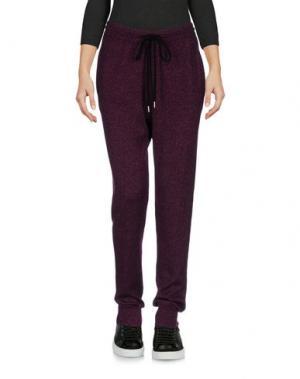 Повседневные брюки MARKUS LUPFER. Цвет: пурпурный