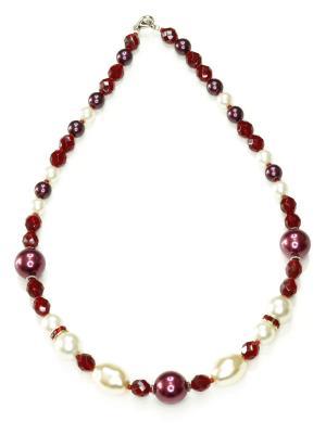 Ожерелья Bohemia Style. Цвет: бордовый