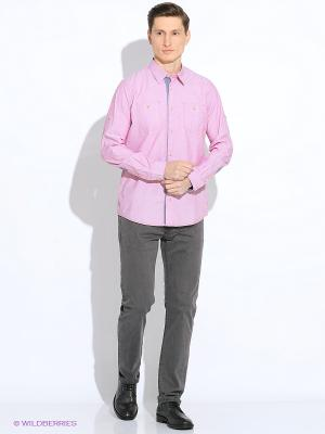Рубашка TOM TAILOR. Цвет: бледно-розовый