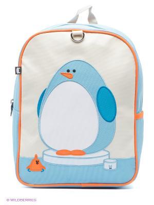 Рюкзак Beatrix NY. Цвет: голубой, молочный, оранжевый