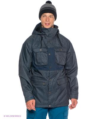 Куртка Burton. Цвет: морская волна