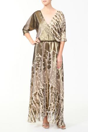 Платье Von Vonni. Цвет: золотой