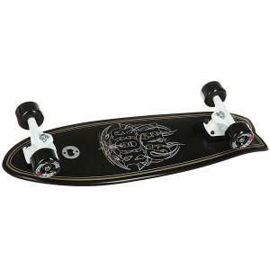 Скейт мини круизер  Pinstripe Land Shark Cruzer Black 8.8 x 27.7 (71.1 см) Nor Cal. Цвет: черный
