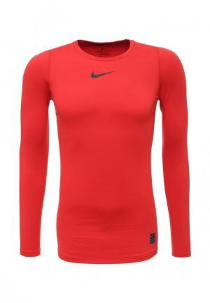Лонгслив компрессионный Nike. Цвет: красный