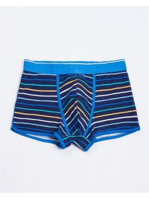 Трусы Mark Formelle. Цвет: синий, голубой, светло-желтый, белый