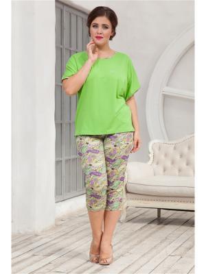 Комплект одежды CLEO. Цвет: салатовый, сиреневый
