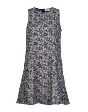 Короткое платье CALLA. Цвет: черный