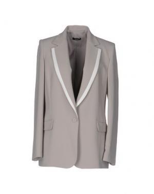 Пиджак HANITA. Цвет: голубиный серый
