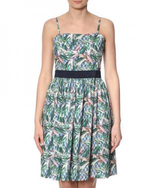 Платье InWear. Цвет: зеленый