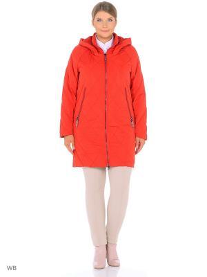 Пальто GRACE.. Цвет: красный