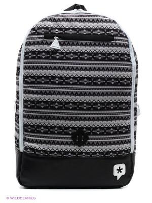 Рюкзак True Spin. Цвет: черный