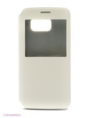 Кейс-книжка для Samsung Galaxy S6 skinBOX. Цвет: белый