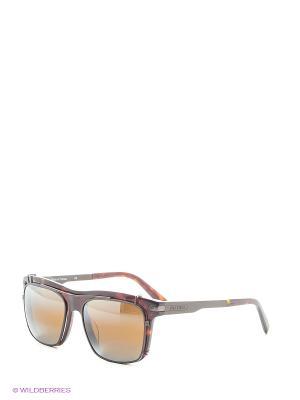 Солнцезащитные очки VL 1404 0002 SX2000 Vuarnet. Цвет: коричневый, рыжий, темно-коричневый
