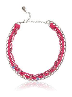Ожерелье SUPERTRASH. Цвет: розовый