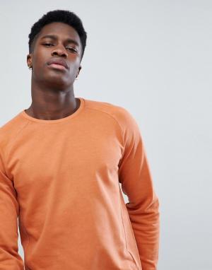 Only & Sons Свитшот с рукавами реглан. Цвет: коричневый