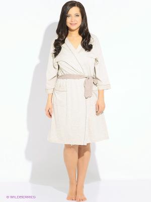 Комплект одежды Vienetta Secret. Цвет: бежевый